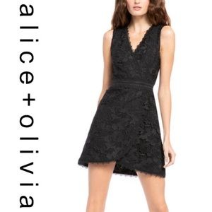 Alice + Olivia • Lennon Lace Minidress • NWT